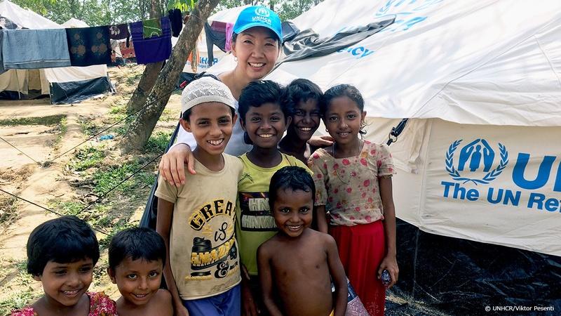 [紛争や迫害の犠牲になる難民の子どもたちにご支援を (国連UNHCR協会)]の画像