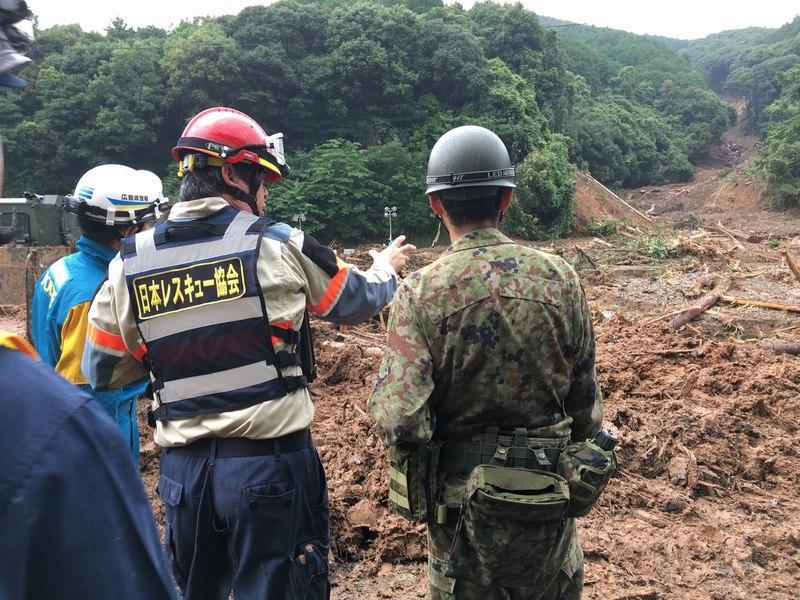 [【令和2年7月 九州南部豪雨災害支援】被災された方々への支援活動(日本レスキュー協会)]の画像