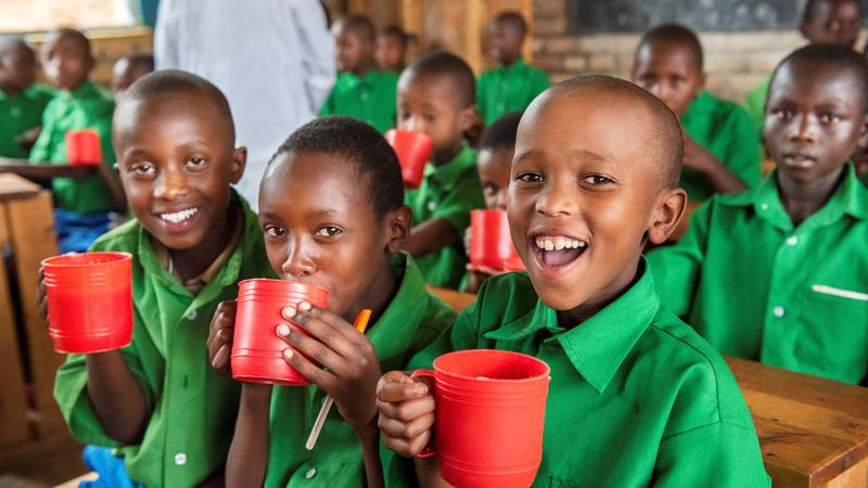 [国連WFPの学校給食支援~子どもたちに栄養と希望を~]の画像