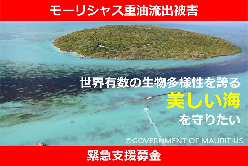 [モーリシャス重油流出被害 緊急支援募金 世界有数の生物多様性を誇る美しい海を守りたい(PBV)]の画像