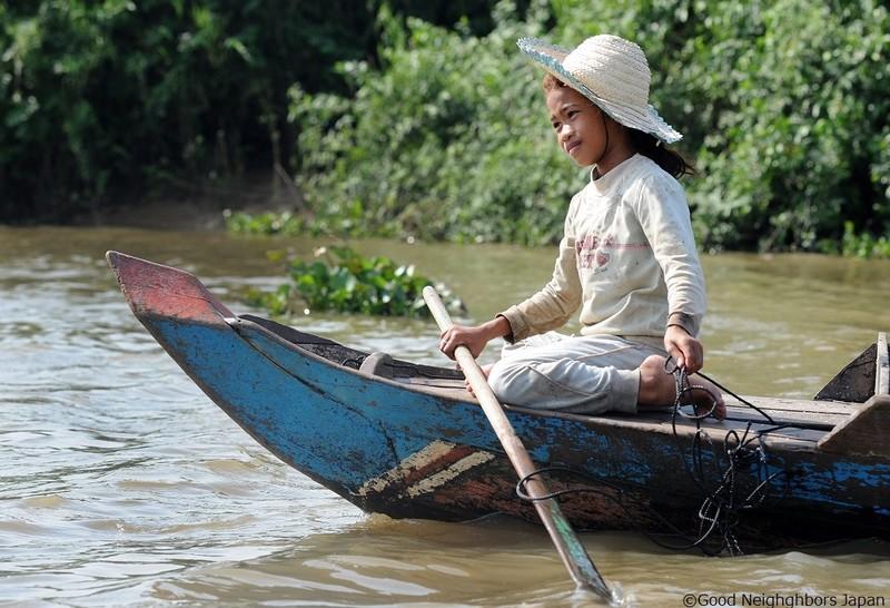 [カンボジアの子どもたちに教育と健康を]の画像