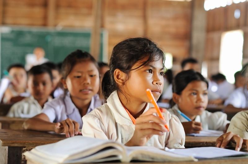[すべての子どもたちが教育を受けることができる世界を作る活動]の画像