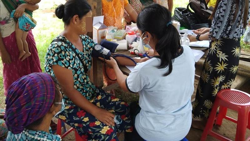 [ミャンマーの危険な状況の中で医療活動を行う現地の人々に支援を]の画像
