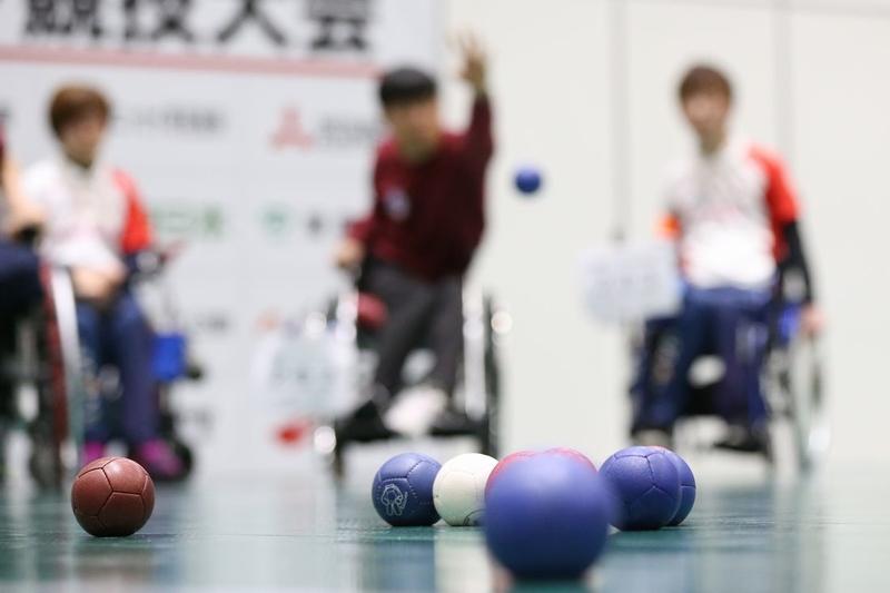 [パラスポーツの普及や選手育成に取り組み、 「活力ある共生社会の実現」を目指す]の画像