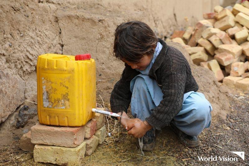 [【人道危機】アフガニスタンなどで恐怖や紛争を逃れて暮らす 子どもたちを支援 (ワールド・ビジョン・ジャパン)  ]の画像