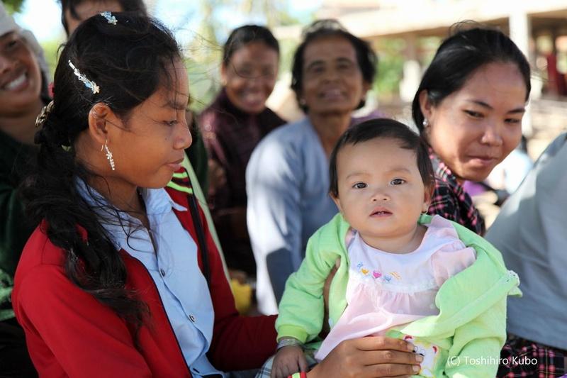 [アジアのお母さんと子どもの健康を守る地域づくり]の画像