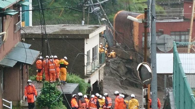 [令和3年7月熱海土砂災害 被災地での活動のためにご支援をお願いします]の画像