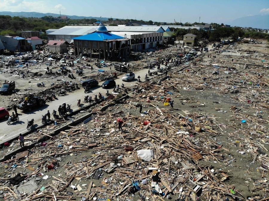 [インドネシアにおける地震及び津波被害・緊急災害支援募金(Yahoo!基金)]の画像
