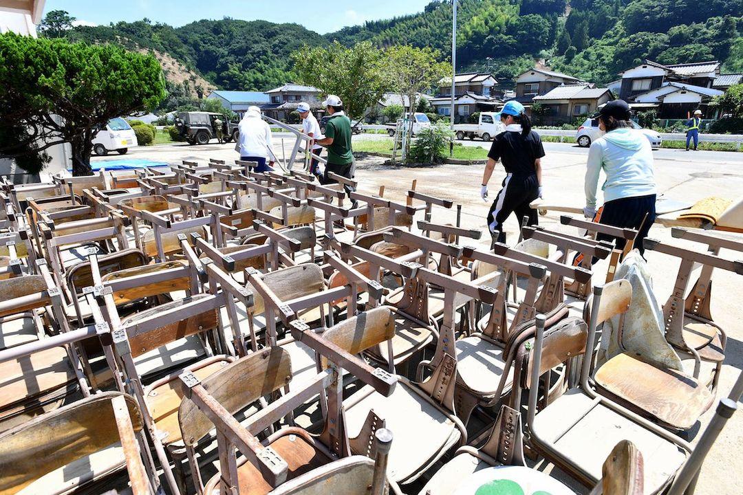 [西日本豪雨によって被害を受けた学校を支援するためにご協力ください(ウェブベルマーク協会)]の画像
