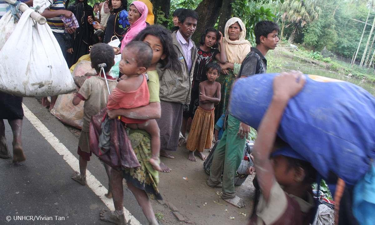 [ロヒンギャ難民危機 緊急募金のお願い(国連UNHCR協会)]の画像